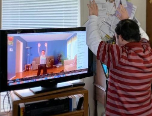 Member Watching Virtual Class